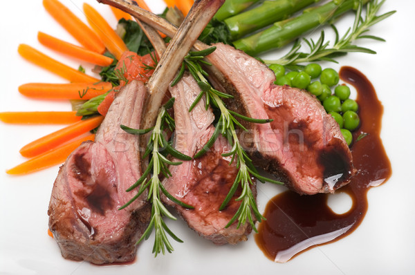 Lamb Chop Stock photo © BVDC