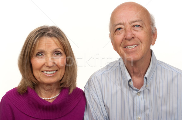 Senior Citizen Couple Stock photo © BVDC