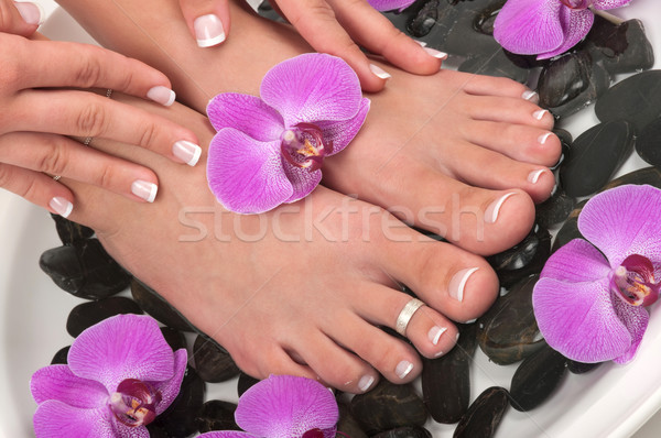 Pedicure Stock photo © BVDC