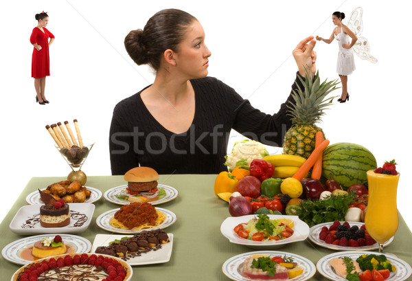 Eating Healthy Stock photo © BVDC