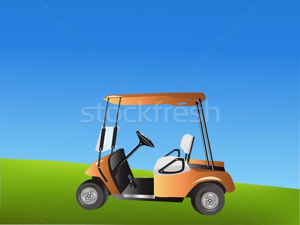 Vector Golf Cart Stock photo © BVDC