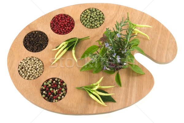 Spices and Herbs Stock photo © BVDC