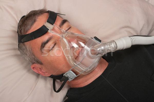 Sleep Apnea and CPAP Stock photo © BVDC