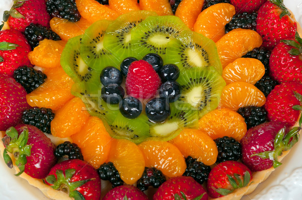 Foto stock: Frutas · tarta · alimentos · torta · restaurante · pie