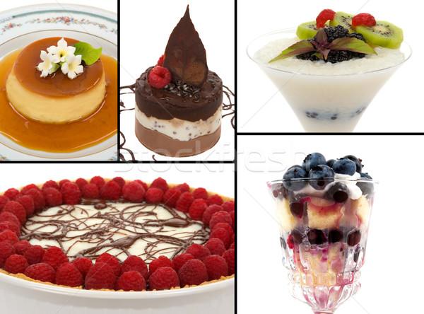 Gourmet Desserts Stock photo © BVDC