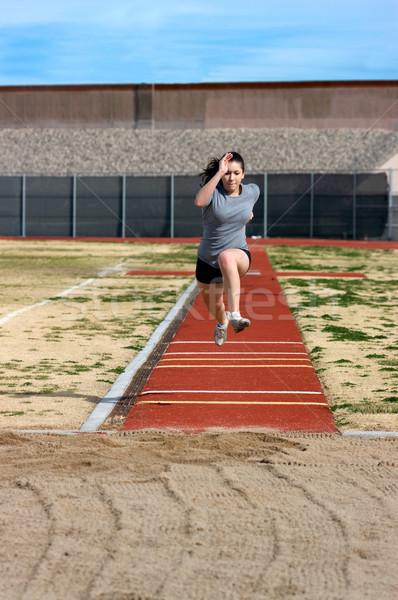 Athlete Stock photo © BVDC