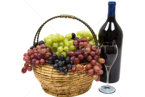 Wine and Grapes Stock photo © BVDC