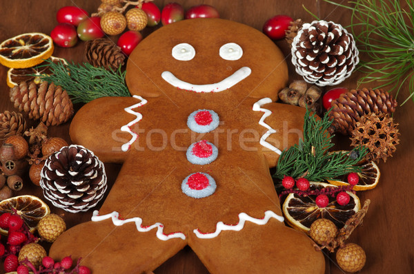 Gingerbread Man Stock photo © BVDC