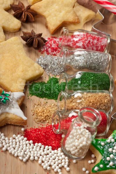 Christmas Cookies Stock photo © BVDC