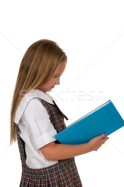 Student kid jonge vrouwelijke Stockfoto © BVDC