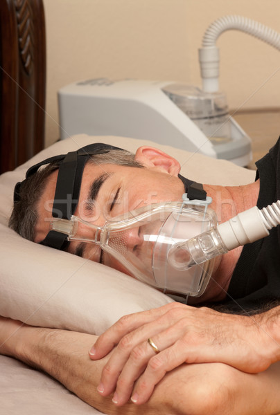 Sleep Apnea and CPAP Stock photo © BVDC