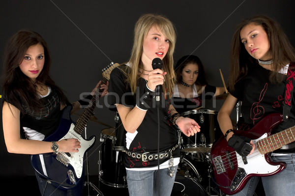 Girls Band Stock photo © BVDC