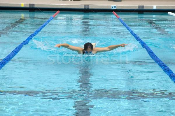 Swimmer Stock photo © BVDC