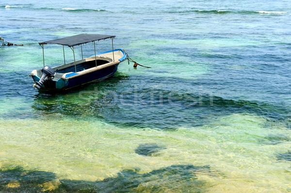 ボート 熱帯 海 スリ·ランカ 美 ストックフォト © byrdyak