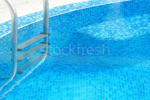 Swimming pool Stock photo © byrdyak
