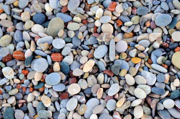 Sea stones background Stock photo © byrdyak