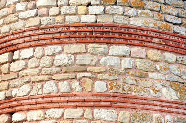 Muro de piedra textura construcción pared naturaleza casa Foto stock © byrdyak