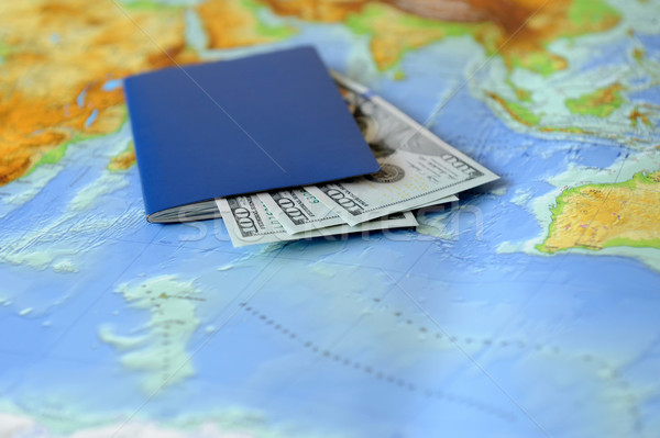 Traveling concept Stock photo © byrdyak