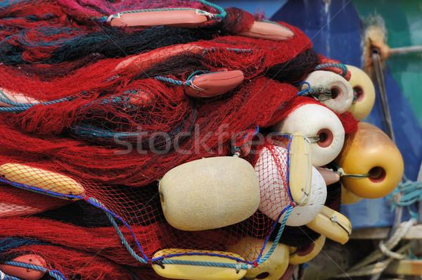 Fishing nets Stock photo © byrdyak