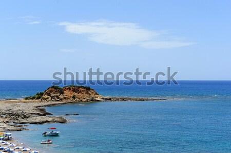 Mar playa hermosa paisaje océano espacio Foto stock © byrdyak