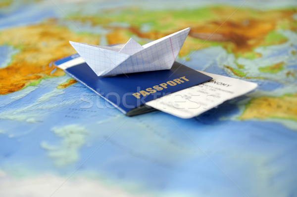Stock photo: Traveling concept