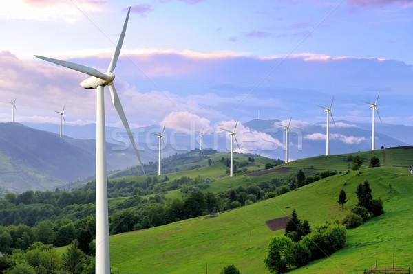 Wind Turbine Stock photo © byrdyak