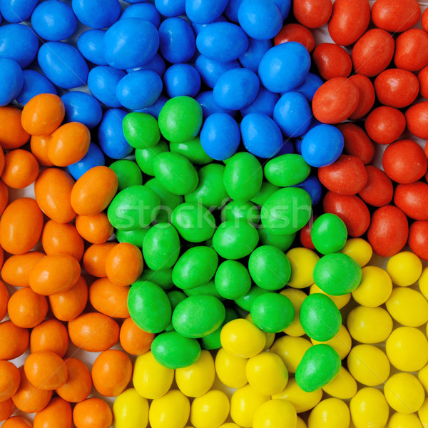 Dulce color dulces primer plano colorido Foto stock © byrdyak