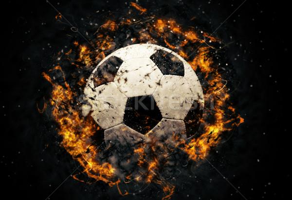 Soccer ball Stock photo © byrdyak