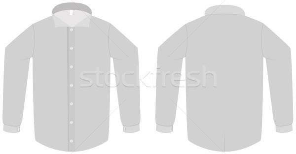 Elbise gömlek bluz şablon tüm nesneler Stok fotoğraf © Bytedust
