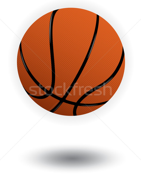Basket vecteur illustration transparent couleur facile Photo stock © Bytedust