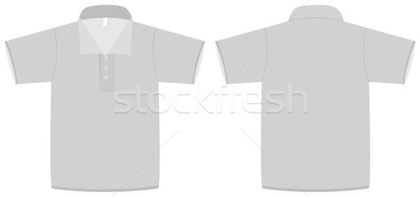 Pólóing sablon összes tárgyak részletek izolált Stock fotó © Bytedust