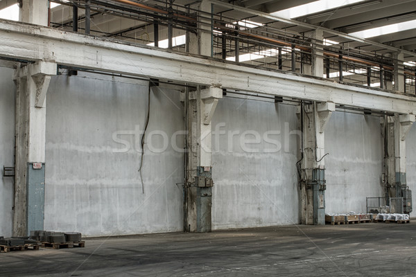 factory building hall Stock photo © c12