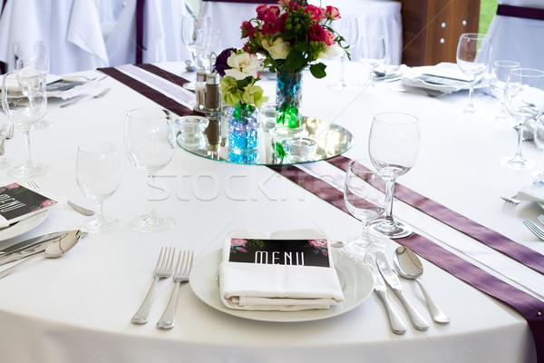 wedding table Stock photo © c12