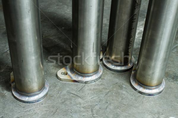 metal pipes Stock photo © c12