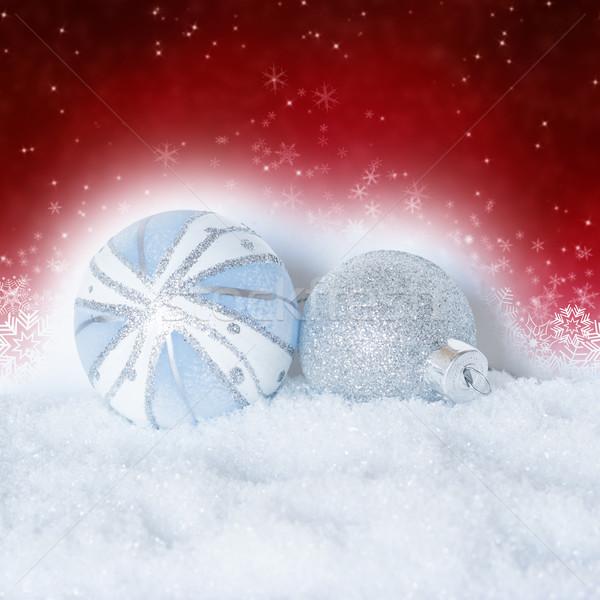 christmas balls Stock photo © c12