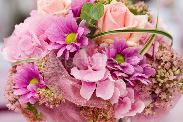 beautiful bouquet of pink flowers Stock photo © c12