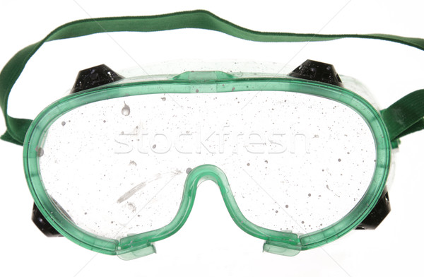 Smudged Goggles
