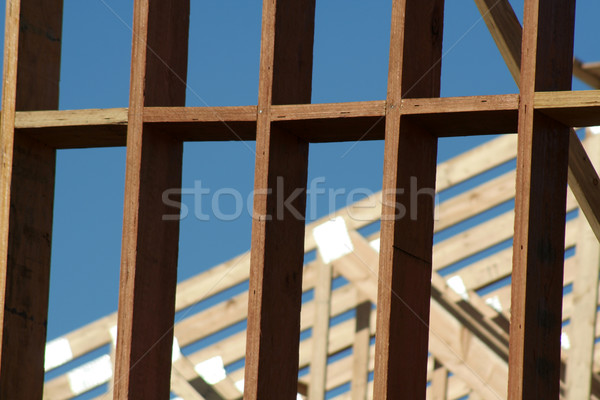 Wooden Frame Stock photo © ca2hill