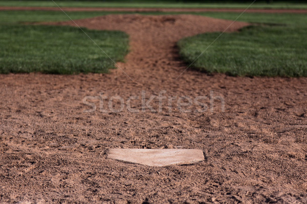 Behind the Plate Stock photo © ca2hill