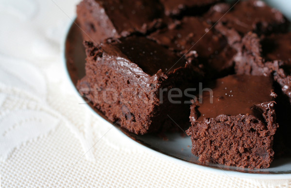 Delicious Brownies Stock photo © ca2hill