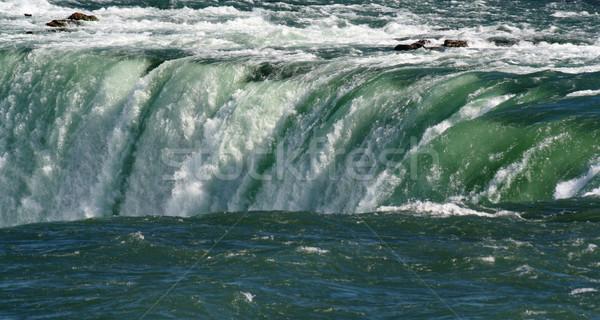 Rand Niagara Falls rand schoonheid reizen Stockfoto © ca2hill