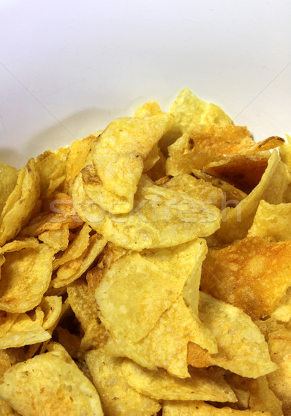 Pile of Potato Chips Stock photo © ca2hill