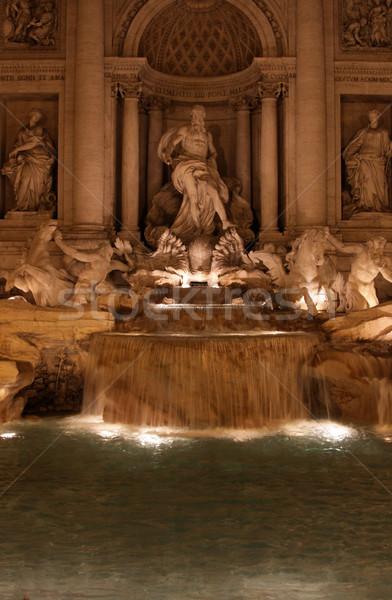 Trevi Fountain Stock photo © ca2hill