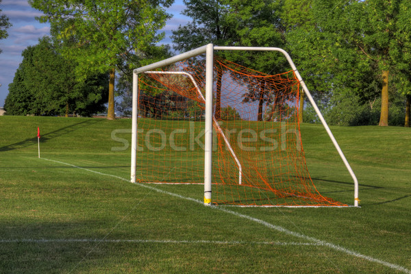 Soccer Goal Side-view