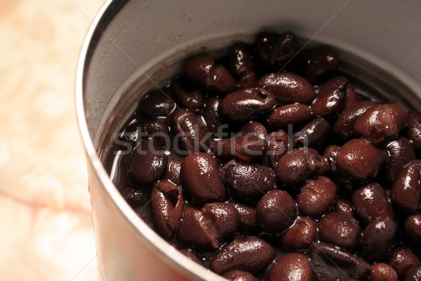 Can of Black Beans Stock photo © ca2hill