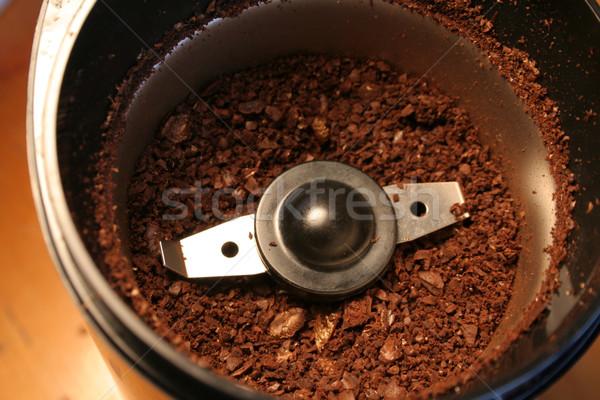 энергии Spice кофе сидят кафе Сток-фото © ca2hill