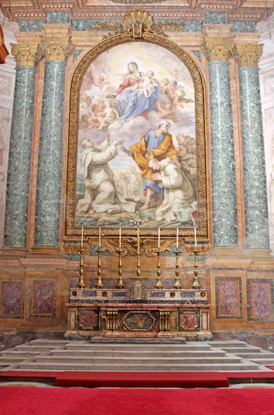 Altare Roma basilica angeli Italia Foto d'archivio © ca2hill