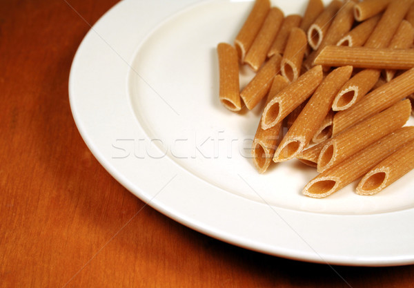 Penne on a Plate Stock photo © ca2hill