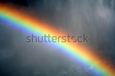 Mistig regenboog shot mist Niagara Falls schoonheid Stockfoto © ca2hill