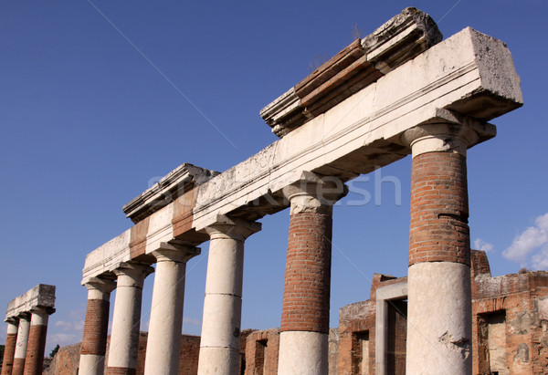 Columns in the Forum Stock photo © ca2hill